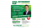 Alex Chalk hosts inaugural Cheltenham Ideal Retirement Fair